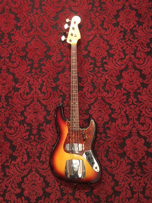 Fender customshop 1964 Jazz Bass relic sunburst 2001