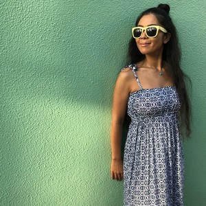 Mermaid Boho Maxi dress