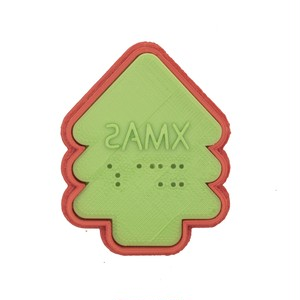 Braille Cookie Cutter[XMAS] 053