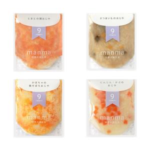 manma 四季の離乳食 9ヶ月〜×6個セット|無添加ベビーフード・離乳食|はたけのみかた