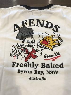 AFENDS. FRESHLY BAKED / WHITE