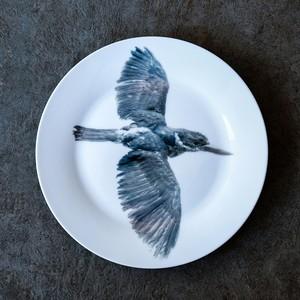 動物たちの飾るお皿  「鳥」