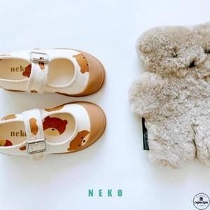 «予約» bear strap shoes くまのシューズ