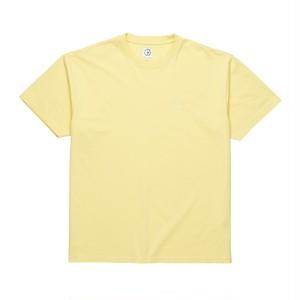 POLAR SKATE CO. Happy Sad Garment Dyed Tee Light Yellow M PSC ポーラー Tシャツ