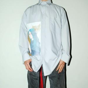 『KAORU ZHOU』 fox & girl shirt