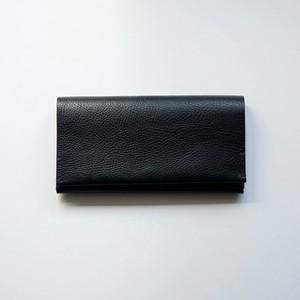 long wallet - bk - vacchetta