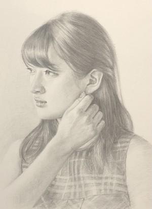 中島健太 デッサン画  『black&white』(限定1枚)