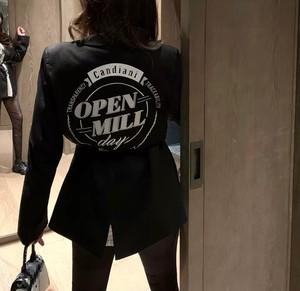 circle open logo jacket