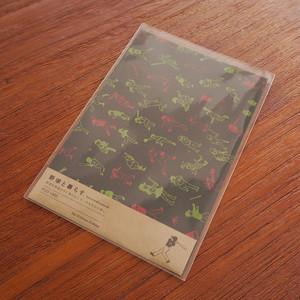 《野球と暮らす》ポストカード ナイトゲーム 5枚セット