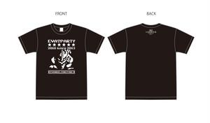 8/17(金)発売開始!期間限定販売! EVA T PARTY 2018 in SAPPORO 限定 ドットTシャツ -ロゴ-