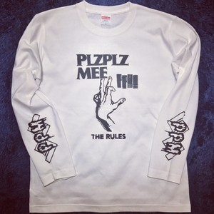 THE RULES L/S TEE WHITE