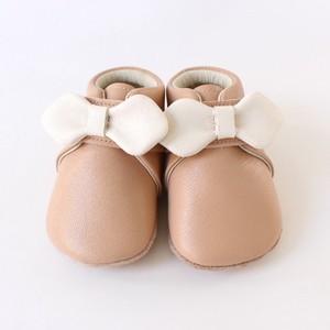 baby shoes(ribbon)pink