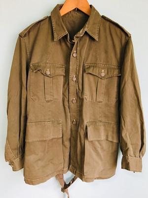 ビンテージ ミリタリー ジャケット カバーオール カーキ グリーン 40s 50s OLD 軍物