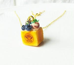 【CHITTO】no.a0110202  ミニハニートーストネックレス(ミント)