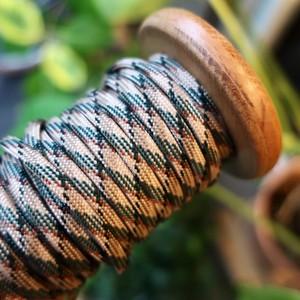 パラコード 靴紐 (ジャングルMIX) 丸紐 4mm