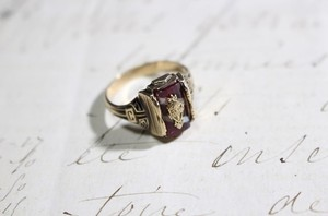 1950s Vintage College Ring‼︎
