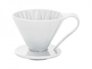 CAFEC フラワードリッパー(ホワイト) 2〜4杯用