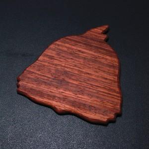 木製コースター(オカメインコ)