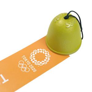 南部鉄器【岩手県】南部風鈴(黄) 東京2020オリンピックエンブレム クロッピング