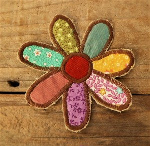 Hand made Patch  (FLOWER)