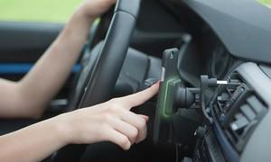 【iPhone7/6/6S兼用】XVIDA車載用ワイヤレス充電器セット