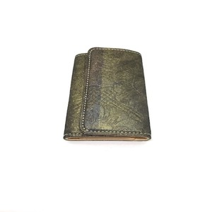 西陣織り&ヌメ革キーケースkk0081