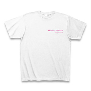 RouteFourteen35周年Tシャツ ホワイト×ピンクワンポイント