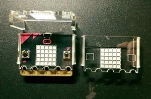 Microbit用遮光簡易ケース