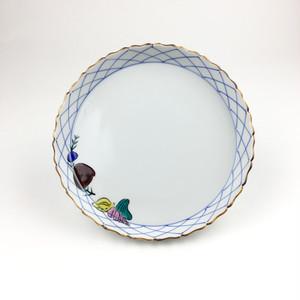 輪花皿 貝