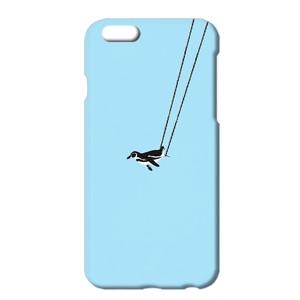 送料無料 [iPhone ケース] ペンギンと空中ブランコ B