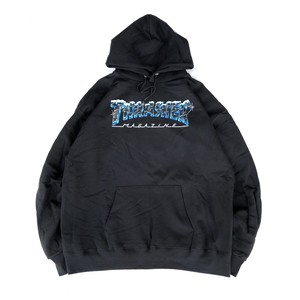 THRASHER - BLACK ICE Hoodie