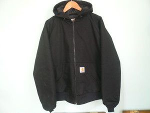 CARHATT カーハート ブラック 黒 ワークジャケット パーカ アクティブジャケット ラグランスリーブ SIZE M