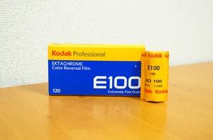 【120 カラーポジ】Kodak(コダック) エクタクロームE100 1本パック