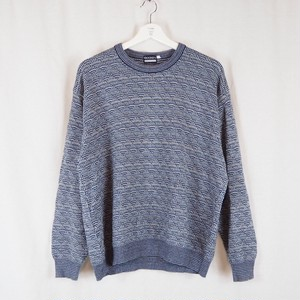 Cotton Acrylic Knit Pullover