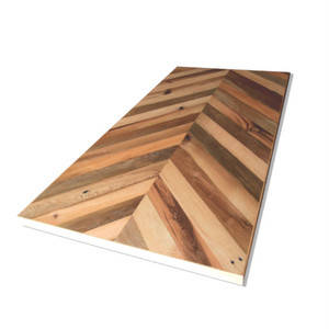 <In Stock> 在庫あり Reclaimed Oak Table Top -Chevron-