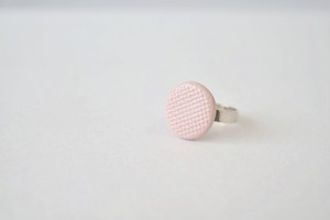 チェックリング ライトピンク