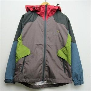 Men's  go slow caravan メランジポリアルミパーカージャケット  COL,CRAZY2(GREY)
