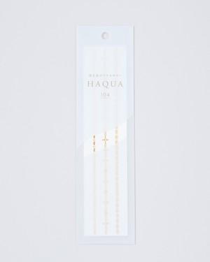 水と箔のアクセサリー HAQUA-ハクア- ゴールド 104