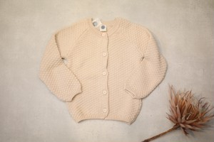 LE PETIT GERMAIN(ルプチ ジェルマン)/ ARMEL Cardigan HOT MILK(12M-8Y)