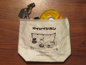 オイシイジカン / nijo spice × 10Mountain タイベックポーチ