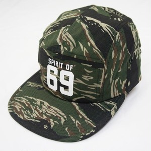 69 COTTON JET CAP   TIGAR CAMO