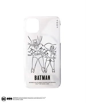 BATMAN / COLORLESS iPhone CASE W-BM021 C