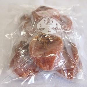 西条柿干し柿 セミドライタイプ 6個(6玉)入り お徳用パック