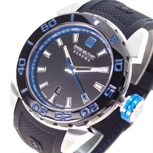 スイスミリタリー SWISS MILITARY 腕時計 メンズ ML-464 クォーツ ブラック