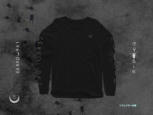 TYOSiN Long Sleeve T-Shirts (Black×Reflector)