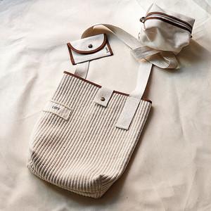 [LUFF] cotton cross bag