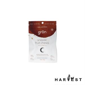 【GRON】Snooze タルトチェリー CBD+CBNグミ 75mg
