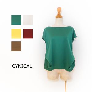 ☆SALE☆[CYNICAL] コットンタックTシャツ