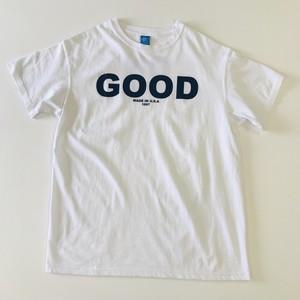 GOOD ON LOGO S/S Tシャツ ホワイト