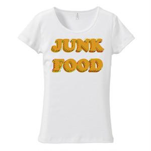 [レディースTシャツ] JUNK FOOD 2